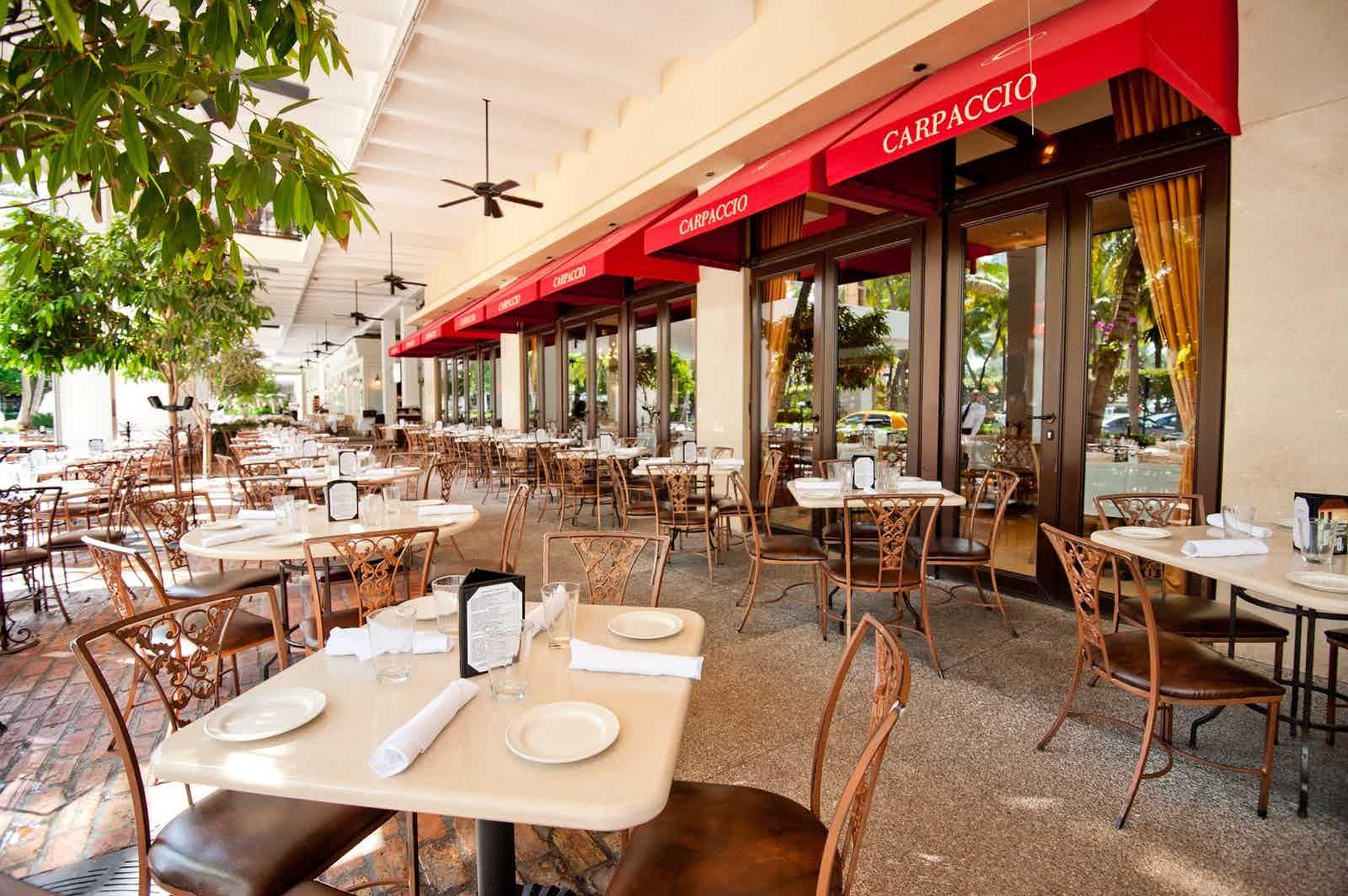 Carpaccio Bal Harbour Restaurant Review Zagat