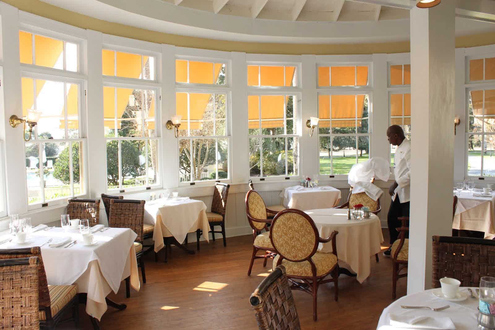 Grand Dining Room Jekyll Island Restaurant Review Zagat