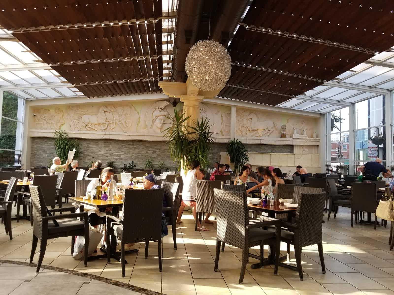 Athena Greek Restaurant Chicago Restaurant Review Zagat