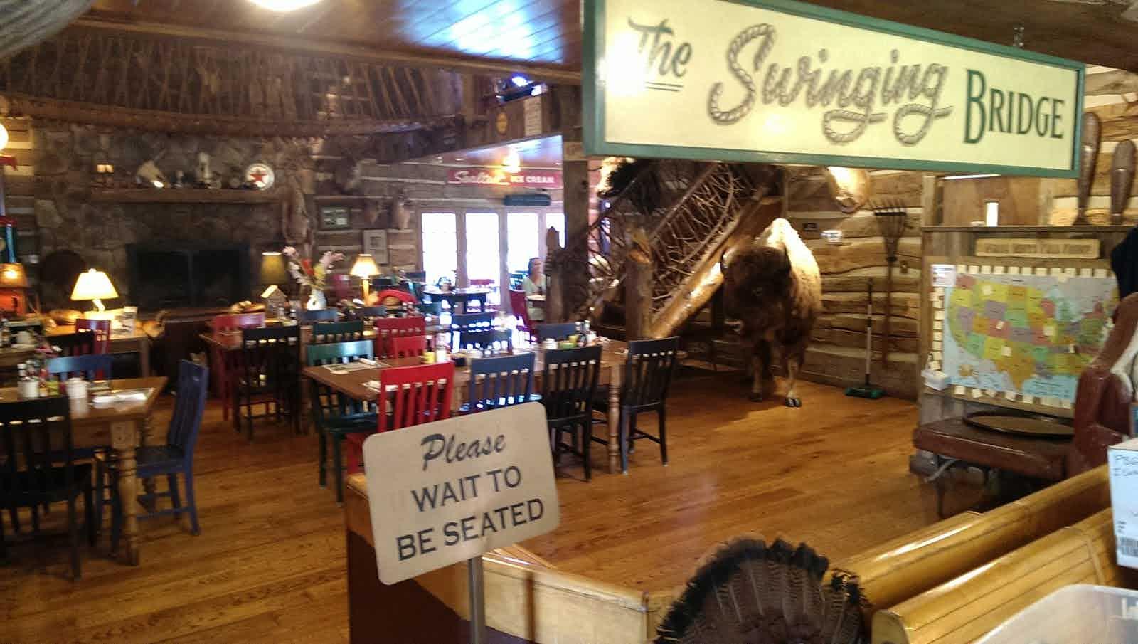 Swinging Bridge Paint Bank Restaurant Review Zagat