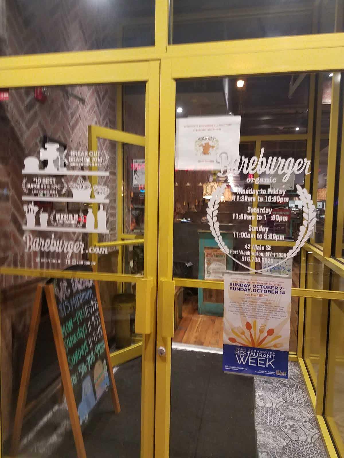 Bareburger Port Washington Restaurant Review Zagat