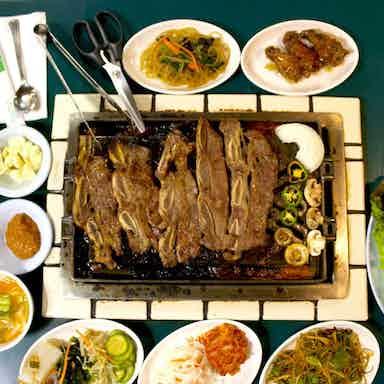 Choeng Wun Bbq Buffet Restaurant Los Angeles Restaurant