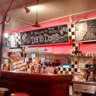Dans Dogs Hot Dog Eatery Diner Medina Restaurant Review Zagat