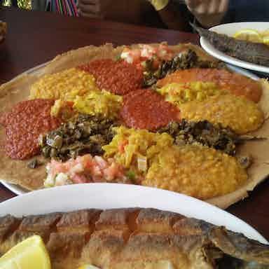 Merkato Ethiopian Restaurant Market Los Angeles