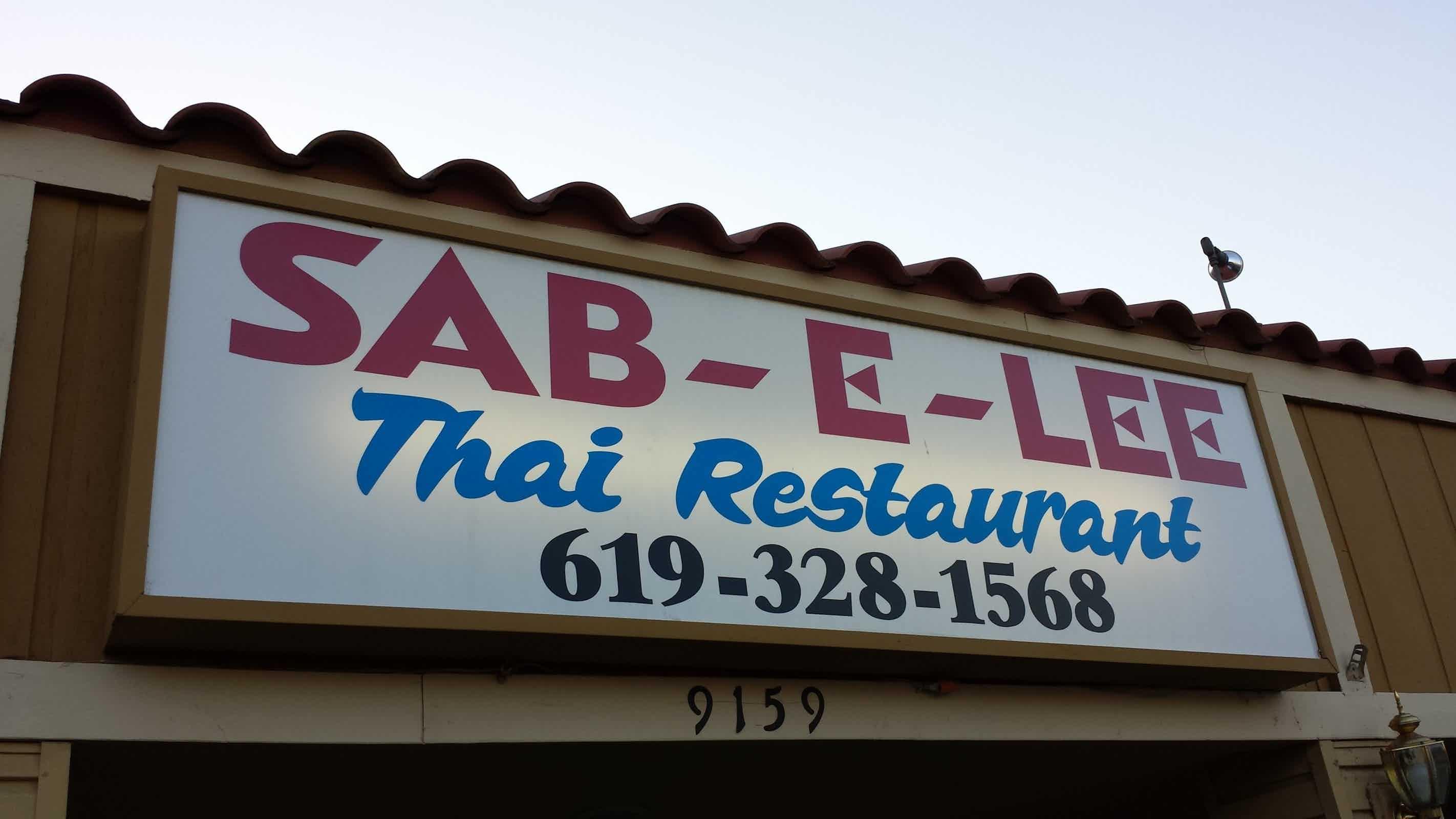 Sab-E-Lee - Thai Restaurant in Santee - Santee   Restaurant Review ...