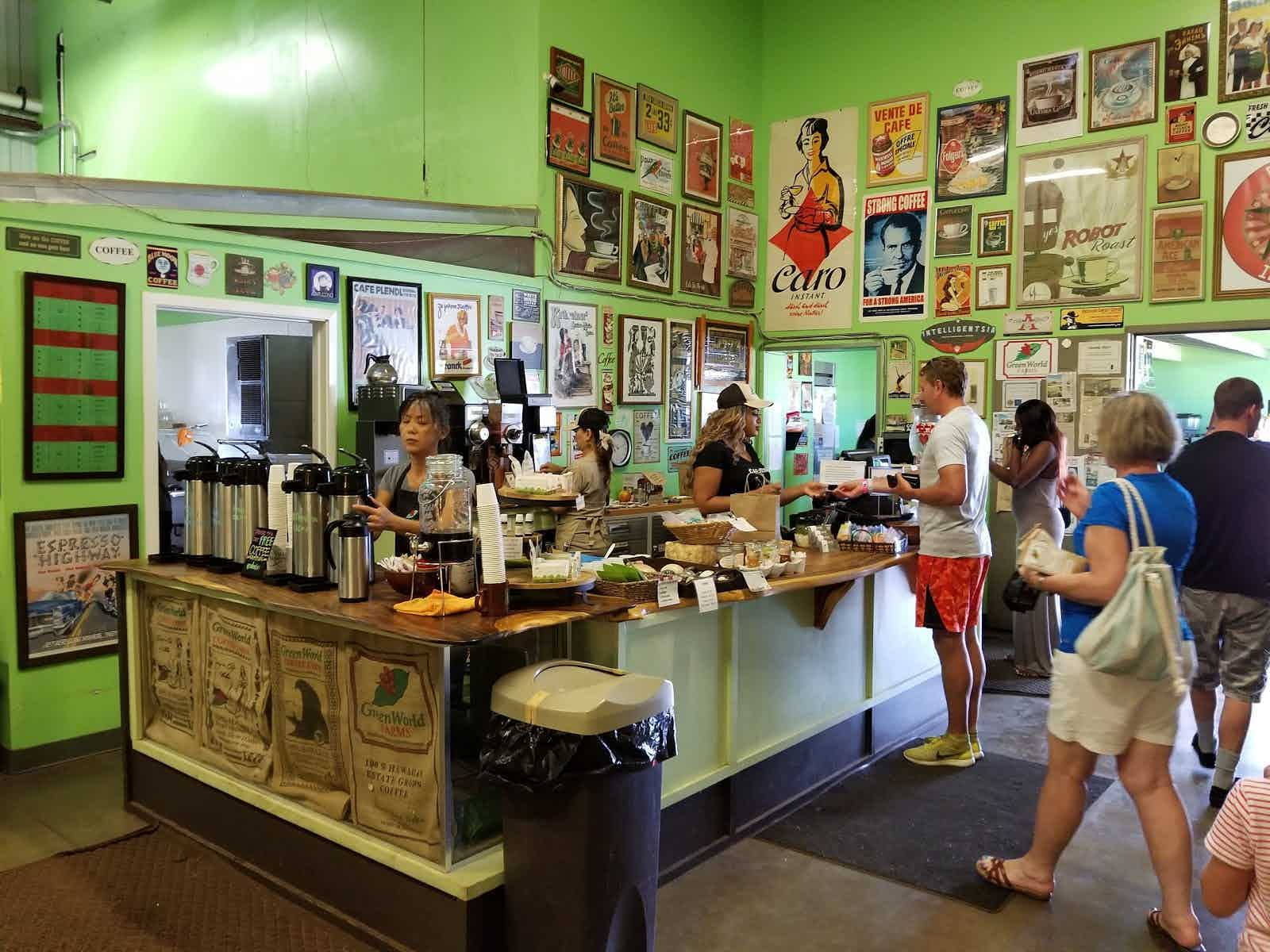 Green World Coffee Farm Wahiawa Restaurant Review Zagat